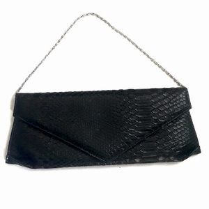 Kate Landry Black Evening Bag/ Clutch